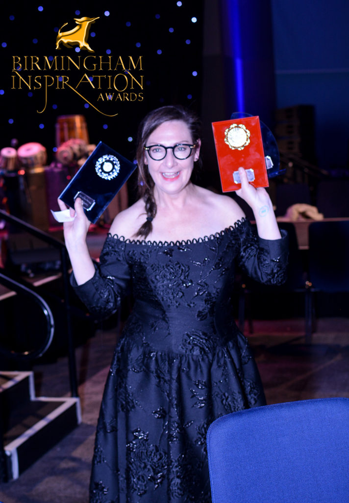 Actess pauline mclynn at Birmingham inspiration Awards