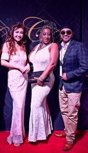 Jane Maria, Toyin Adekale and Tubsy on City Gala Oscar event red carpet