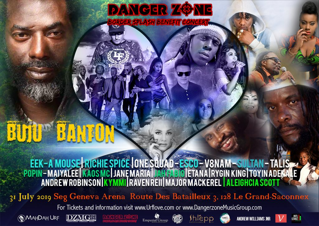 Mahdah Urf - Danger Zone Border Splash Benefit concert