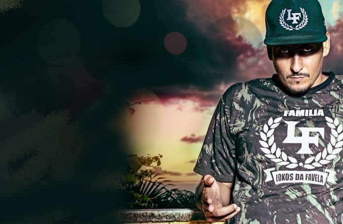 Kaos MC the hip hop robin hood lands in Europe from Brazil